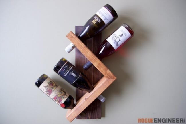 Wall Wine Holder