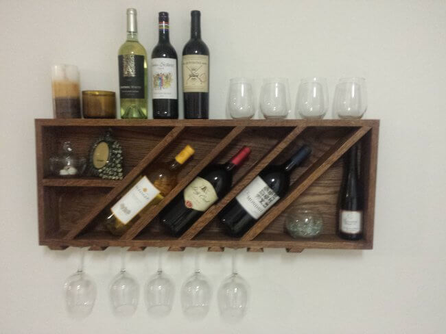 Wine rack and plans