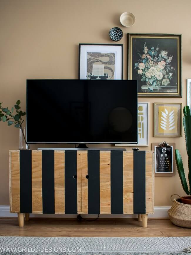 Diy Tv Stand (You Can Build In A Weekend!)