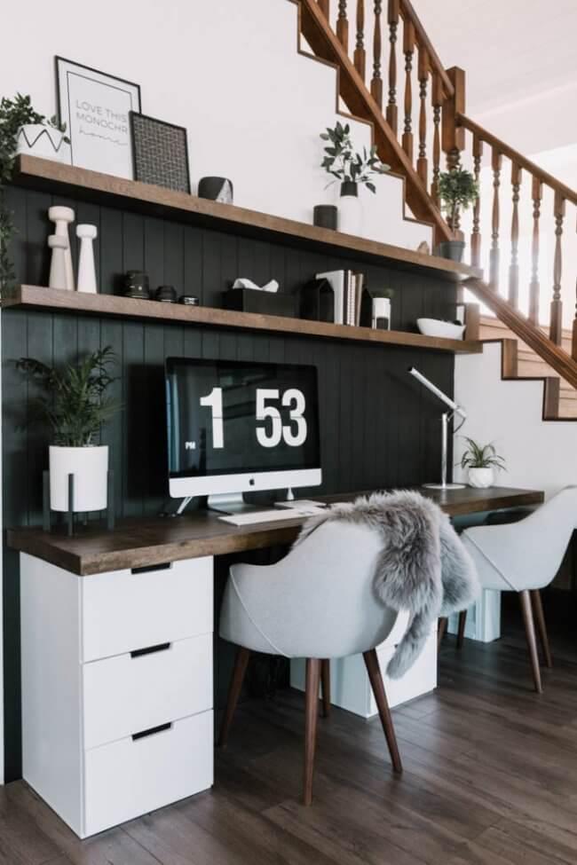 Our DIY Computer Desk Reveal