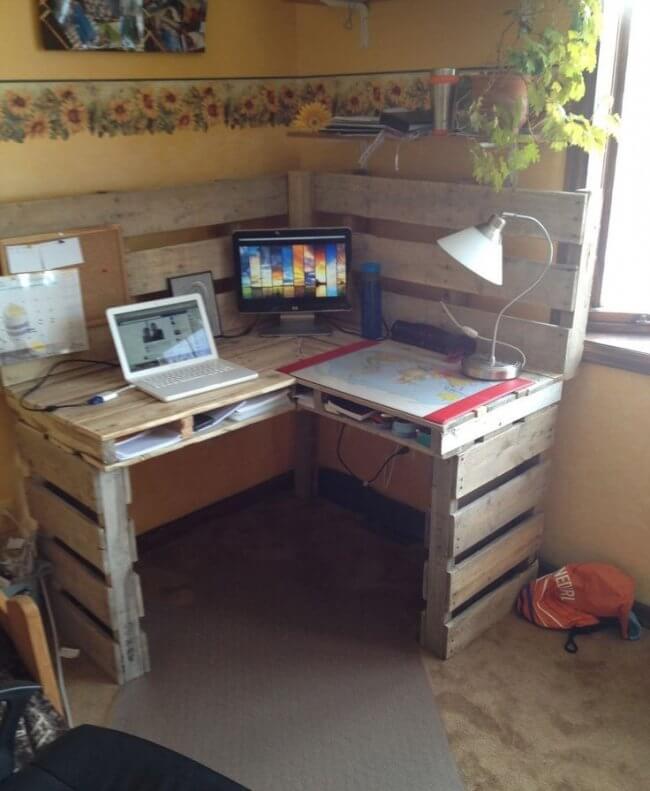 Pallet Table Desk