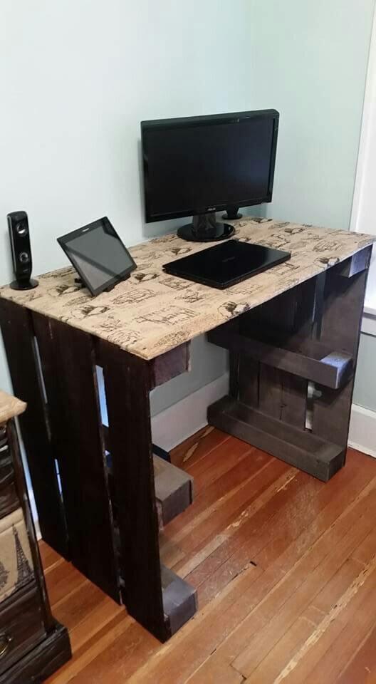 Simple Pallet Desk