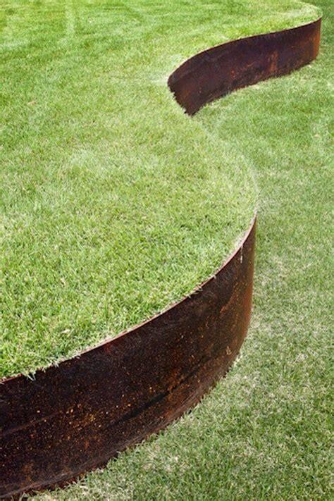 Core Edge Flexible Steel Lawn Edging CorTen