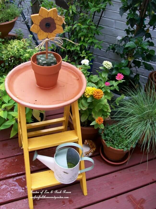 DIY Project : Make Your Own Birdbath !