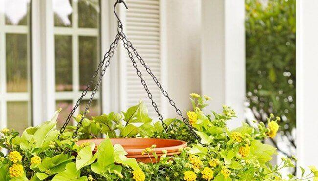 Hanging Birdbath Planter