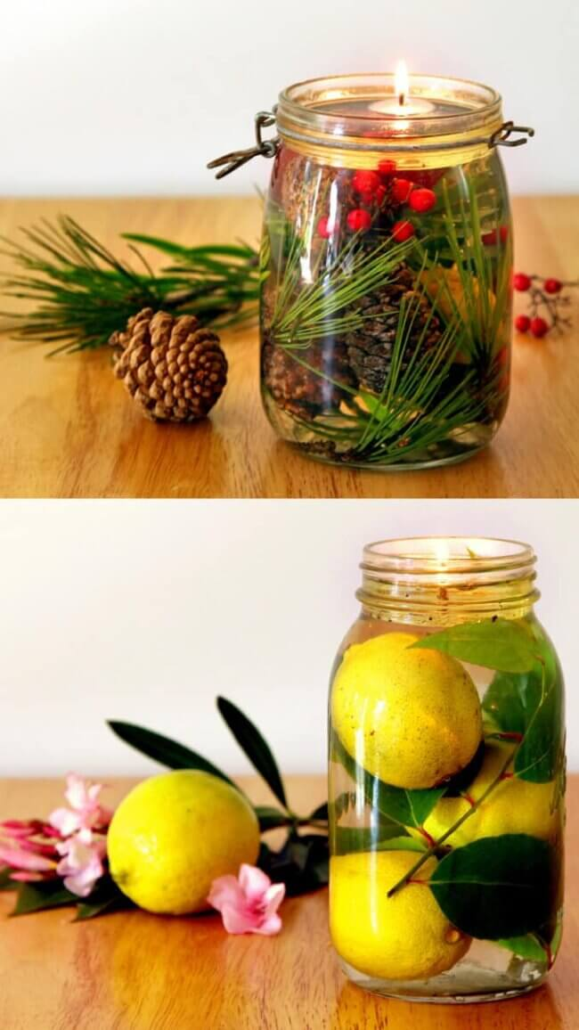 Magical Mason Jar Oil Lamp ( Diy Oil Candles In 2 Minutes! )