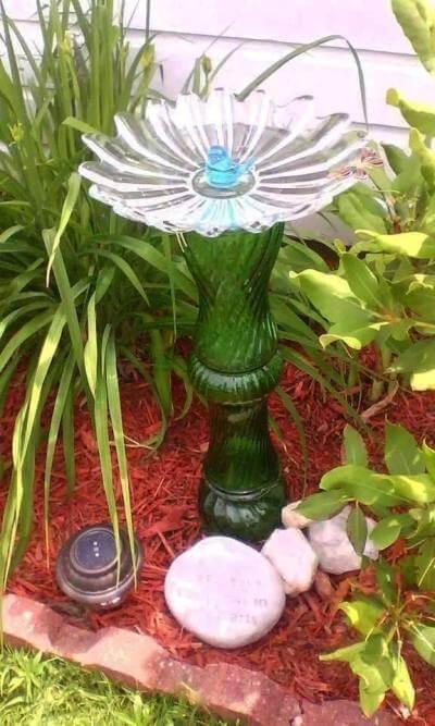Making your first birdbath totem
