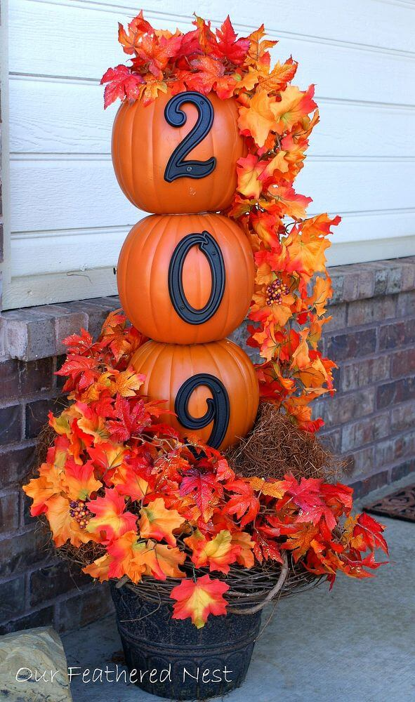 Pumpkin House Number