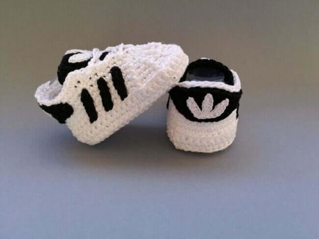 Crochet PATTERN shoes, baby sneakers