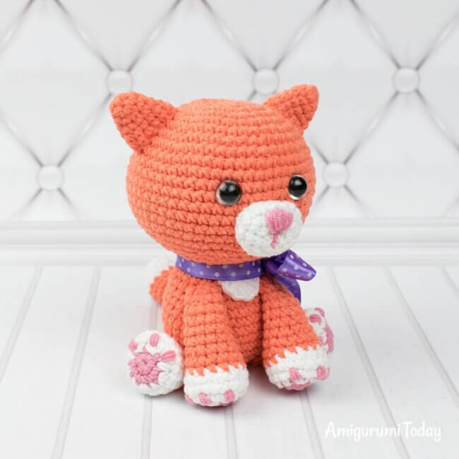 Ginger Cat Amigurumi Patter