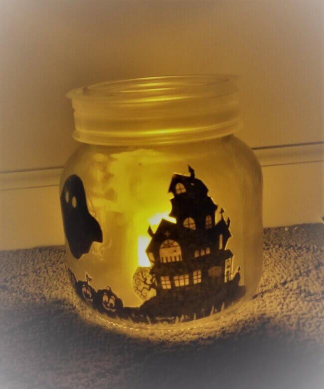 Unique Halloween Mason Jar Lantern Tutorial for 2020