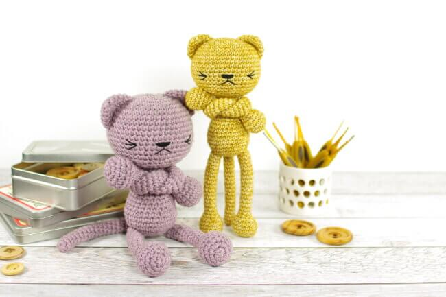 free amigurumi pattern long legged