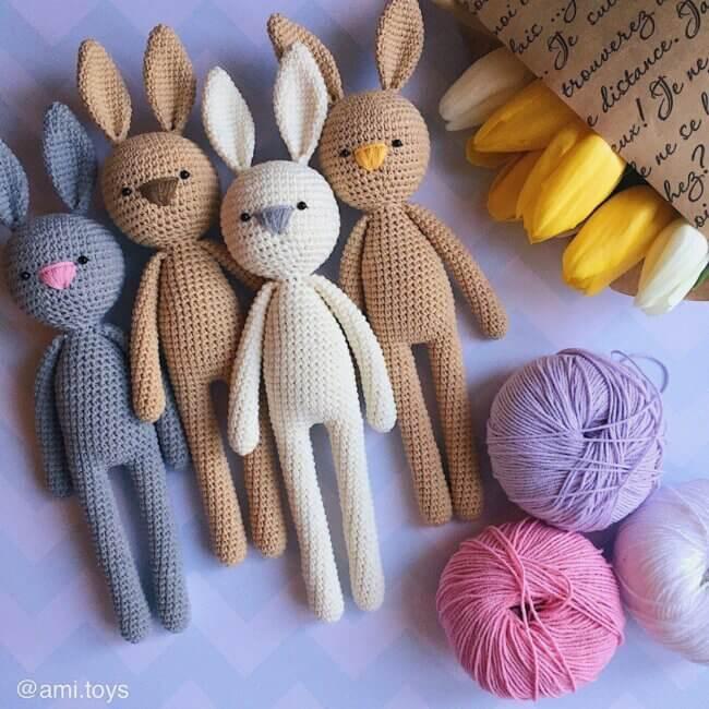 Amigurumi Bunny Free Pattern