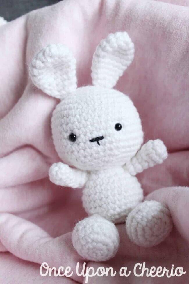 Classic Amigurumi Bunny Crochet Pattern