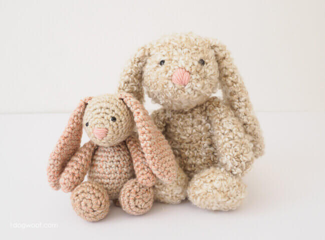 Classic Crochet Bunny: An Easter Favorite