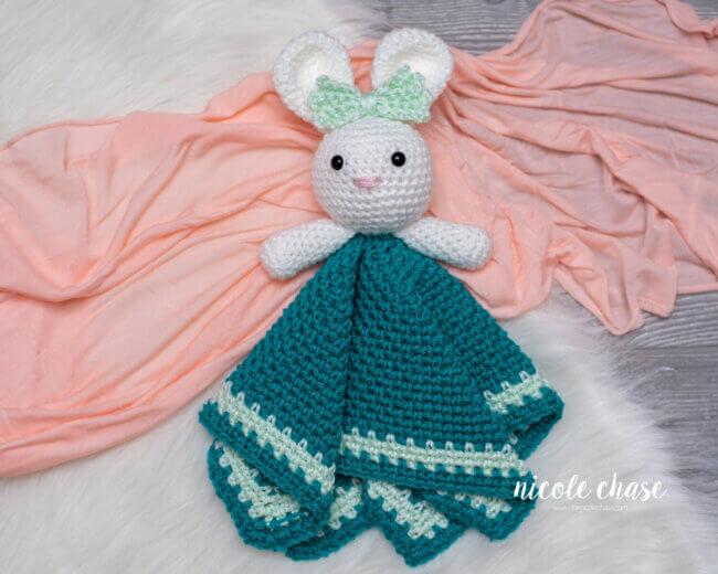 Hug Me Bunny Lovey - Free Crochet Pattern