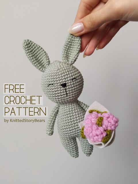 Little crochet bunny FREE PATTERN