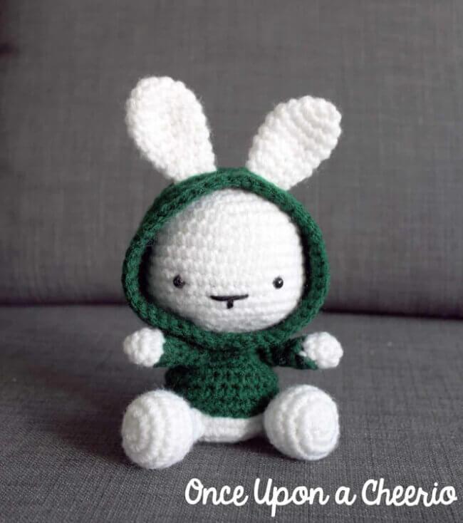 Some Bunny in the Hood Crochet Pattern