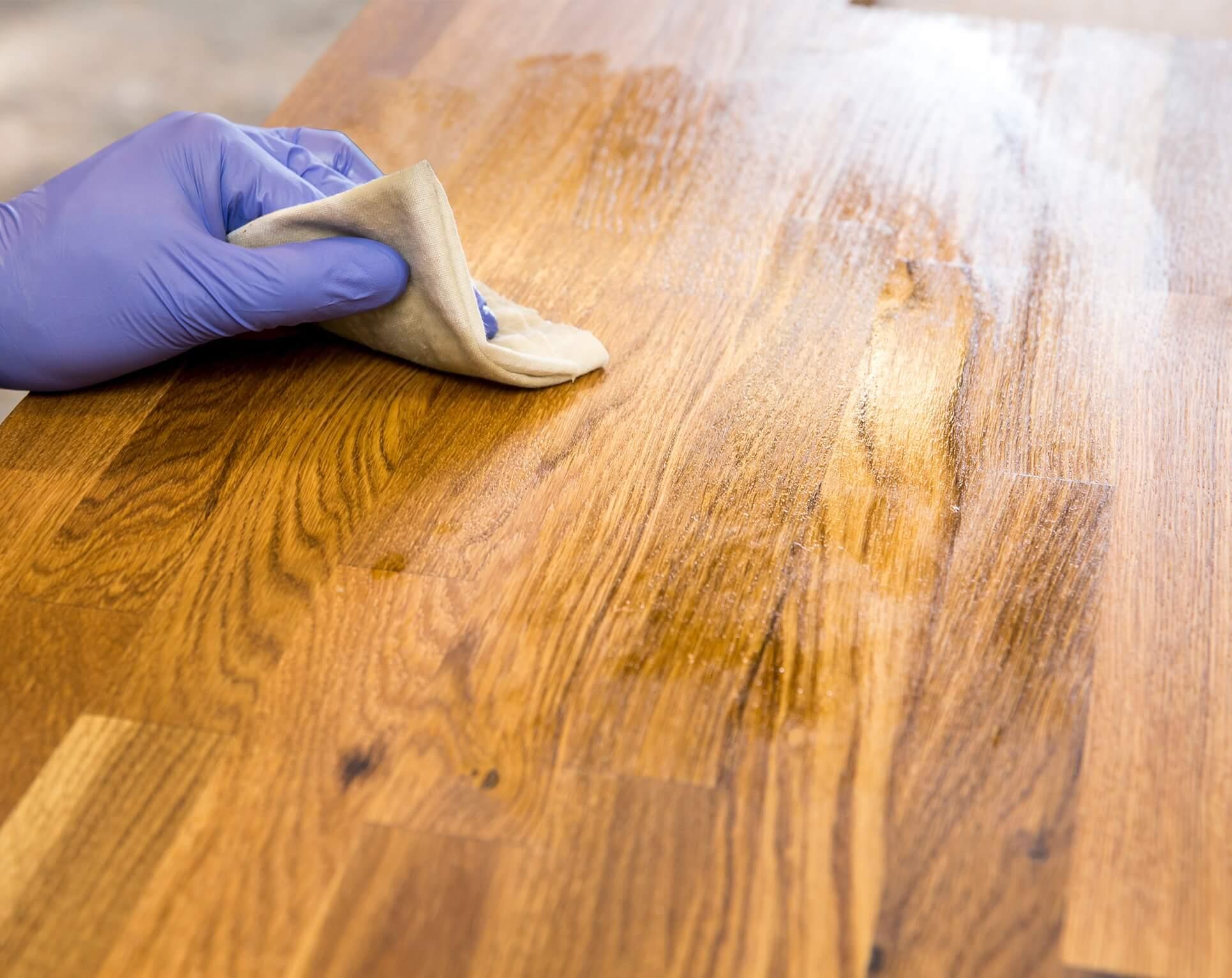 Black Stains From Hardwood Floor
