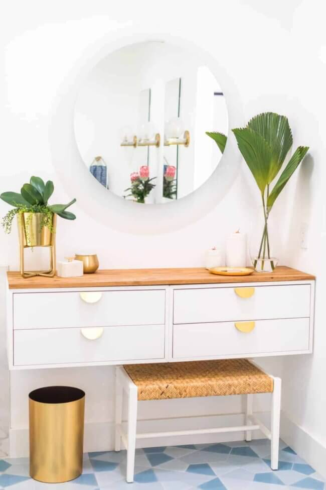 Diy Dressing Table: How To Make An Ikea Vanity Hack