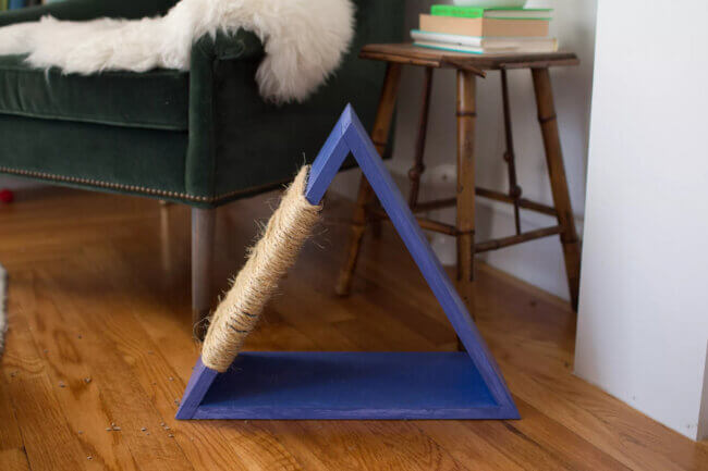 How to Make a Chic DIY Cat Tree