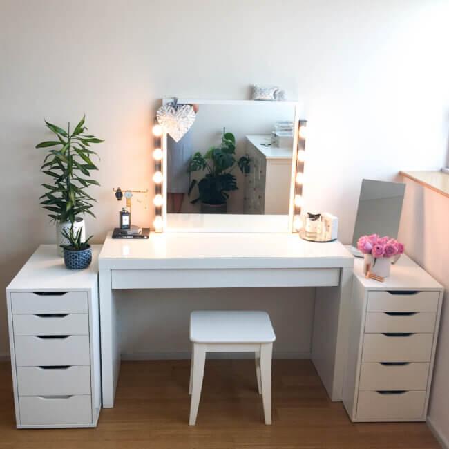 My Diy Dressing Table And Vanity Mirror