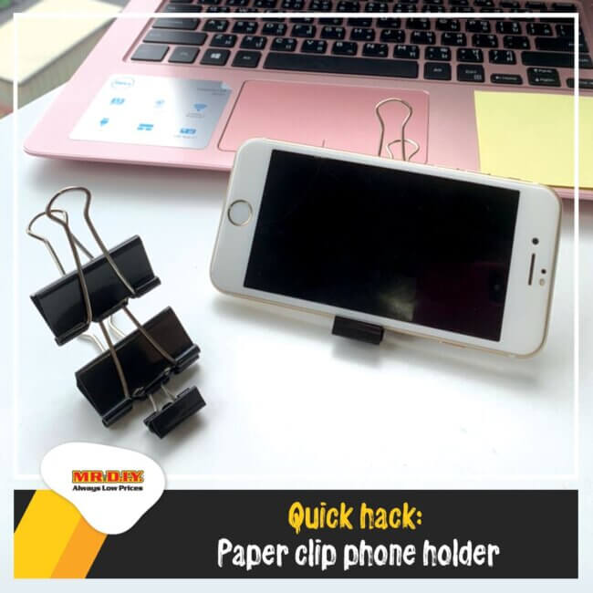 Quick and easy way to make a DIY phone stand
