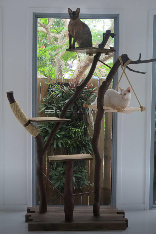 This Diy Cat Tree Is Truly A Work Of Art