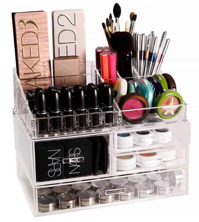 Best Makeup Organizers: Acrylic Organization Systems Overview