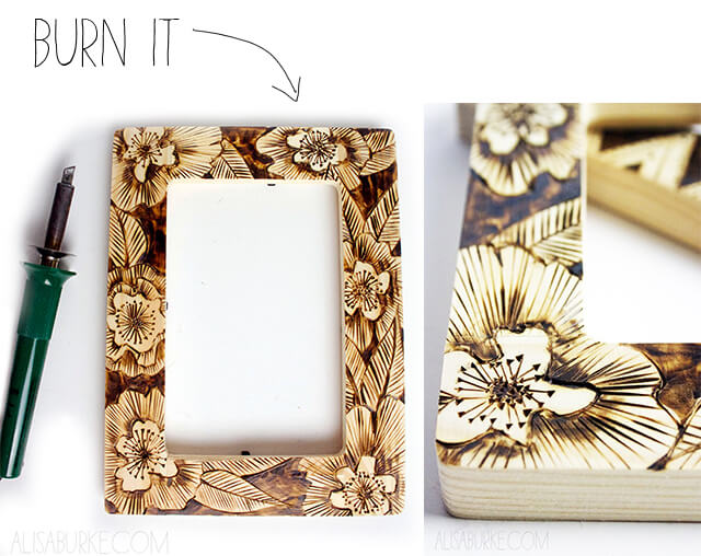 Altered Picture Frames