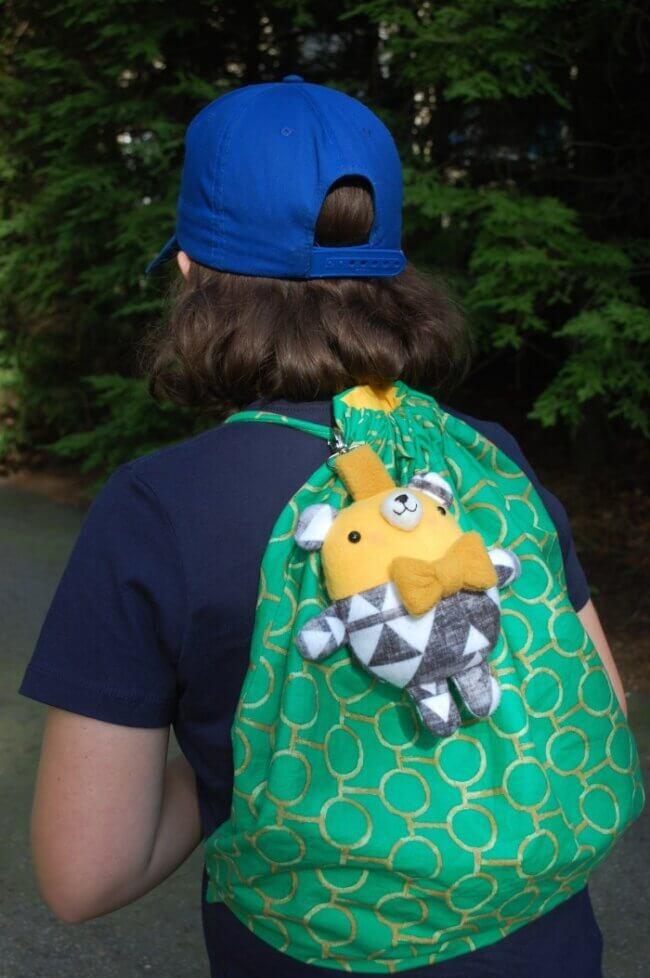 Backpack Bear Free Pattern