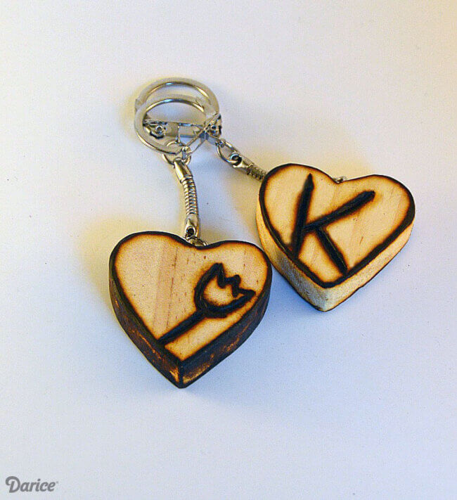 Beginner Wood Burning Keychain Tutorial