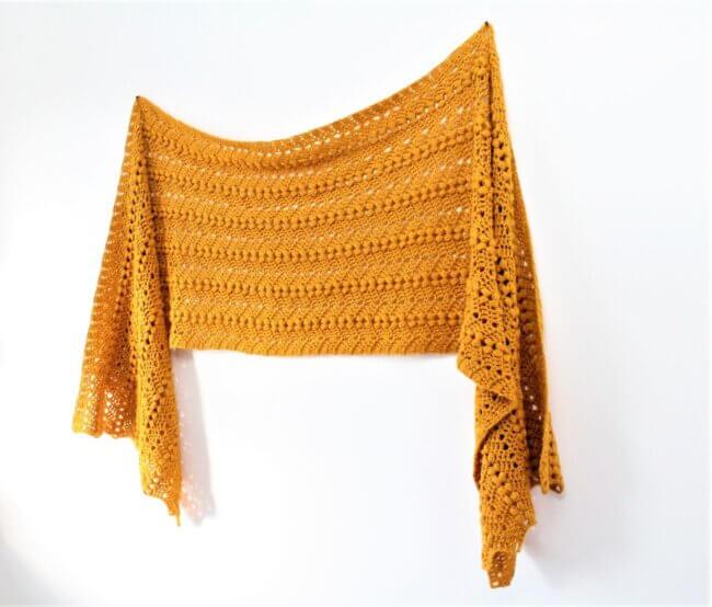 Bobble Ripple Shawl – Free Crochet Pattern