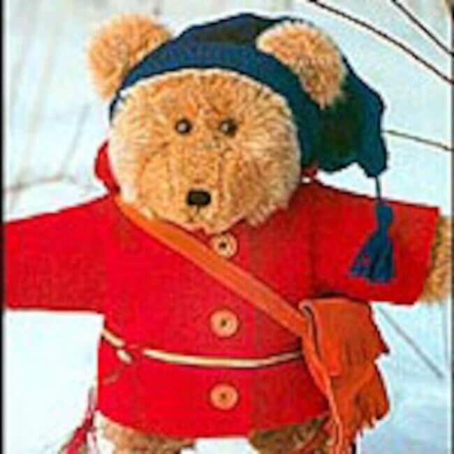 Bonjour, I'm Beau Bear