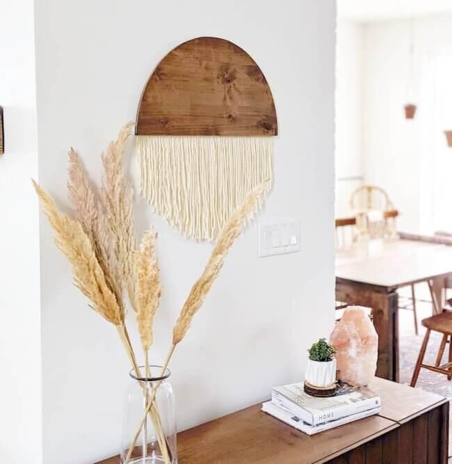 DIY Hanging Wall Decor