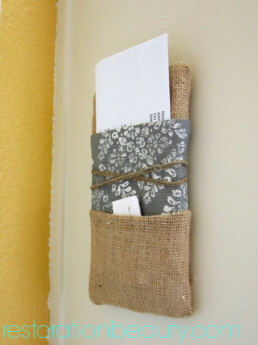 DIY Mail Letter Holder