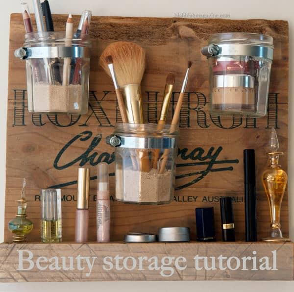 DIY beauty station tutorial