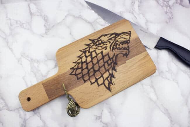 Diy Game Of Thrones Cutting Board