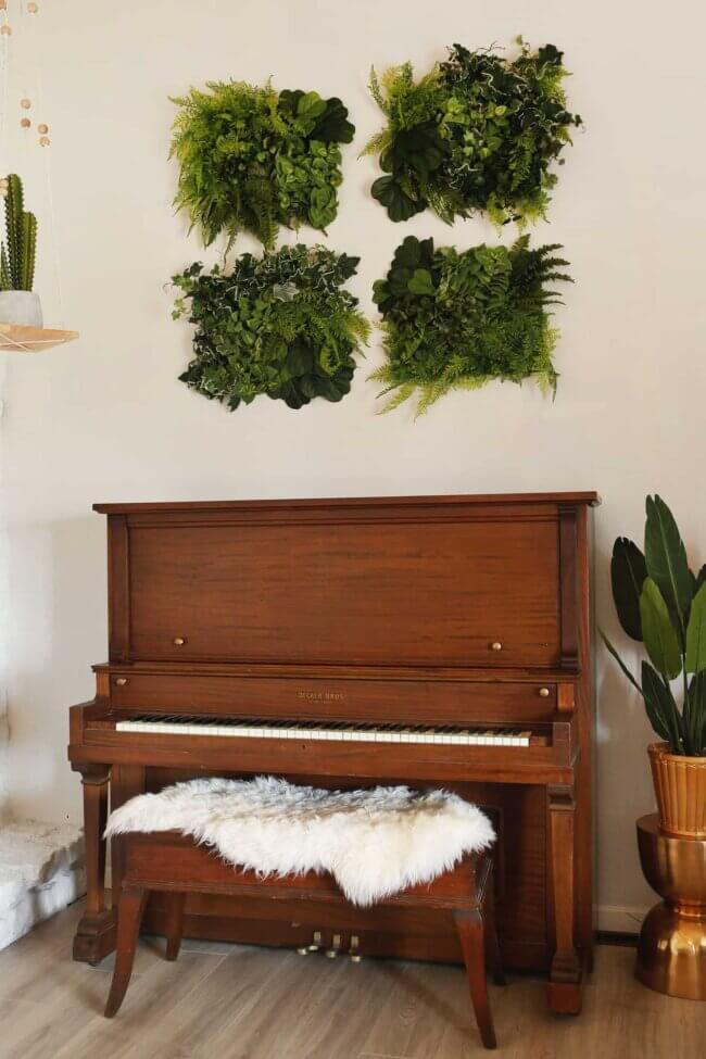 Easy Diy Living Wall Art