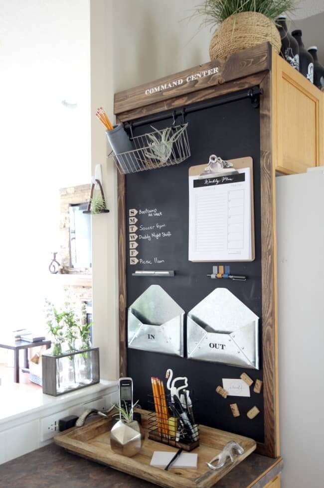 How to Build Your Own Magnetic Chalkboard