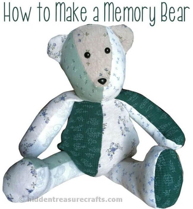 How to Make a Memory Bear