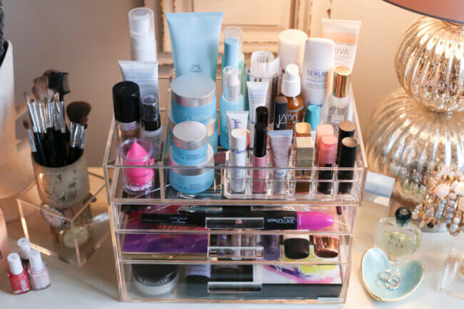 How to Organize Your Makeup + Skincare