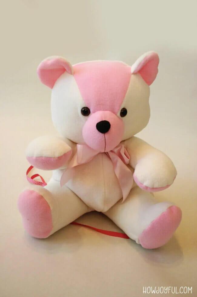 How to make a stuffed bear: The HowJoyful Bear