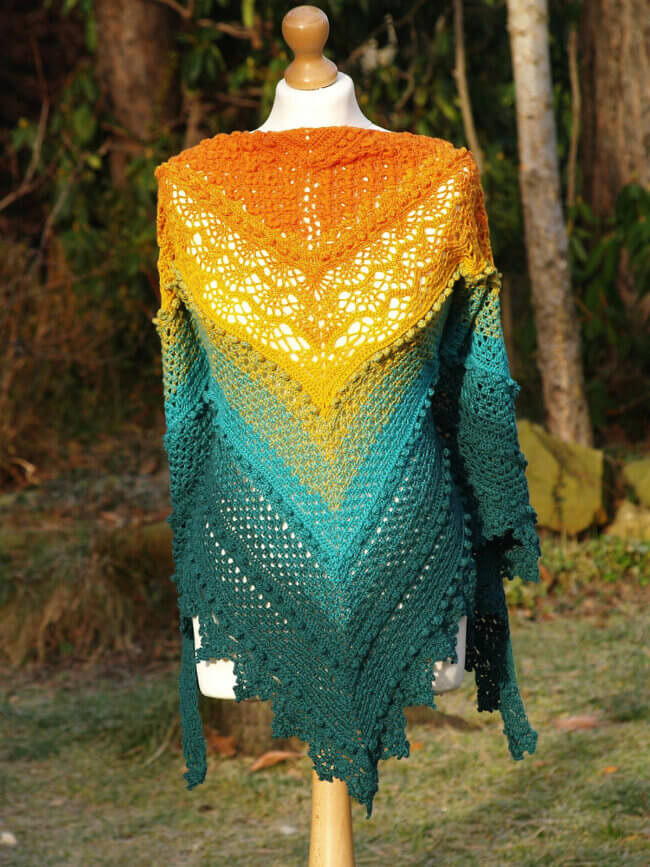 Magnificent Marge Shawl