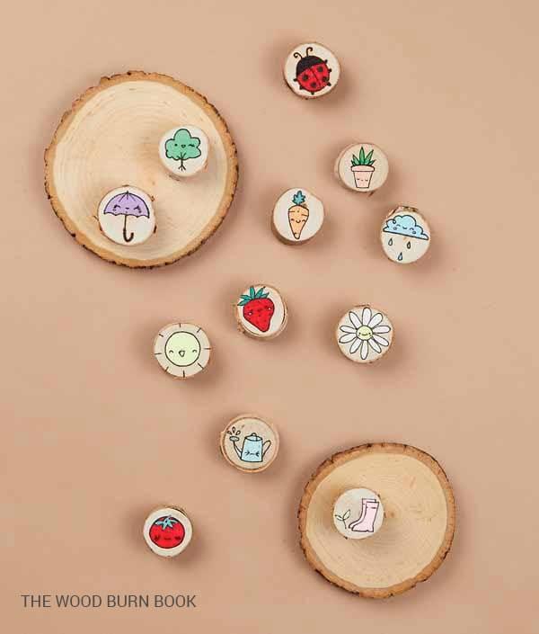 Make Mini Fridge Magnets (Beginner Wood Burn Craft)