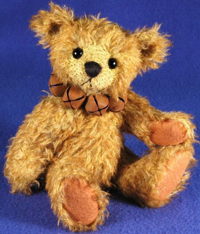 """Sebastian – 9"""" Fully Jointed Teddy Bear"""