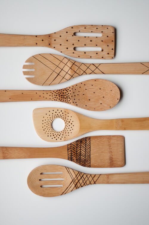 The Perfect Gift: Etched Wooden Spoons