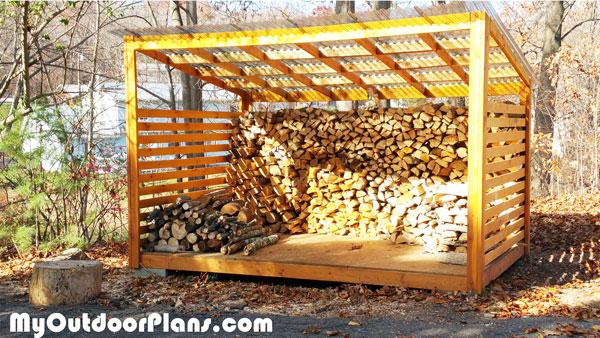8×12 Wood Storage Shed