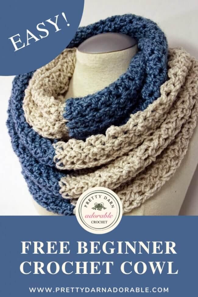 Beginner Crochet Neck Warmer