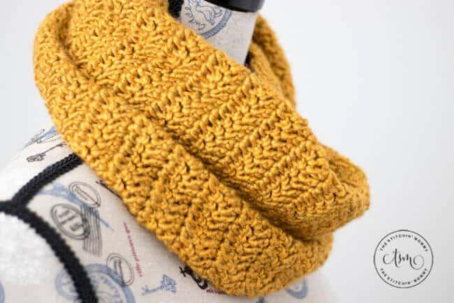 Butterscotch Infinity Scarf – Free Crochet Pattern